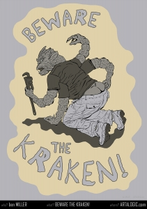 Beware the Kraken