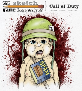 One Sketch Game Impressions: Call of Duty
