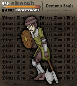 One Sketch Game Impressions: Demon's Souls