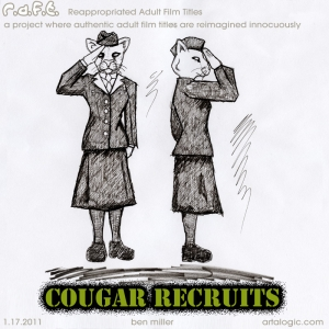 Cougar Recruits R.A.F.T.